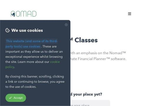 Nomad Classes Coupons and Promo Code