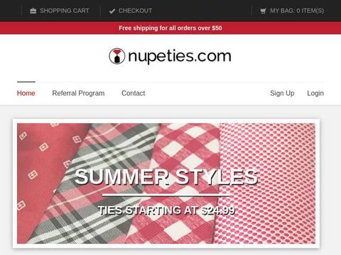Nupeties Coupons and Promo Code