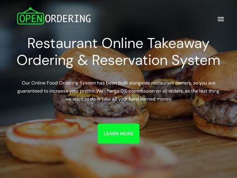 Open Ordering Coupons and Promo Code