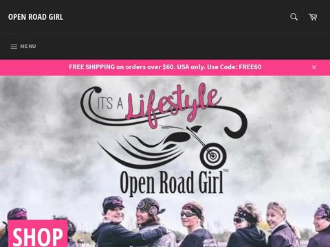 Open Road Girl Coupons and Promo Code