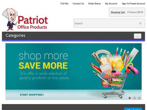 Patriot Office Products Coupons