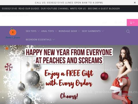 Peaches And Screams Coupons and Promo Code