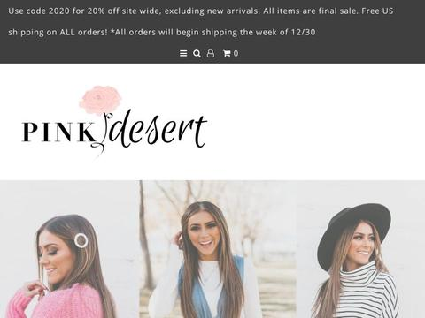 Pink Desert Coupons and Promo Code