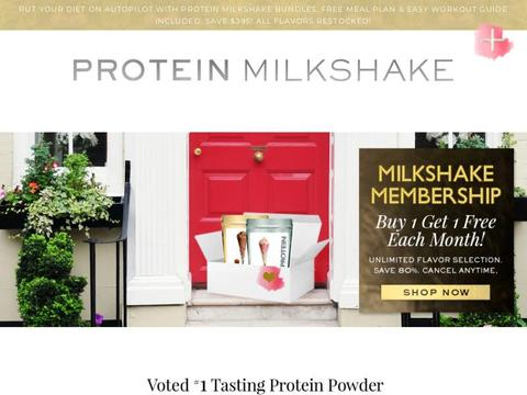Protein Milkshake Bar Coupons and Promo Code