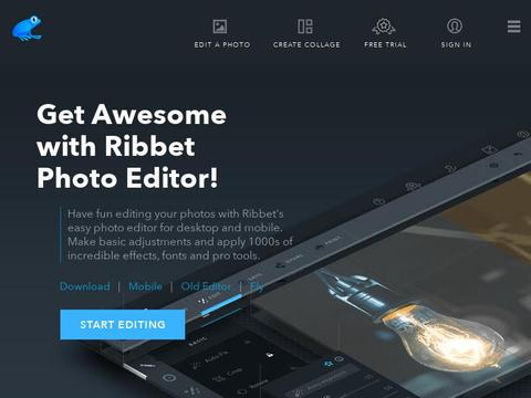 Ribbet Photo Editor Coupons and Promo Code