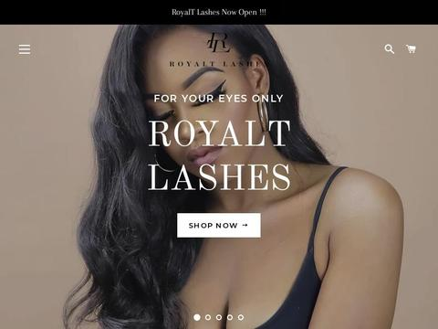 Royaltlashes.com Coupons and Promo Code