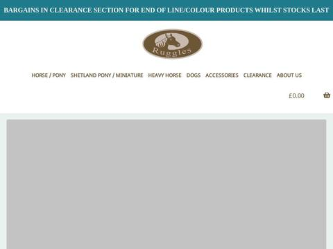 Ruggles Horse Rugs Co Uk Coupon Code