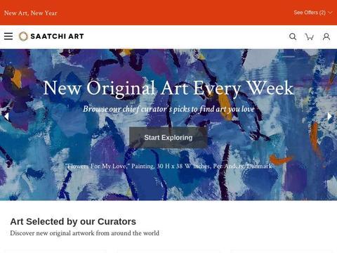 Saatchi Art Coupons and Promo Code
