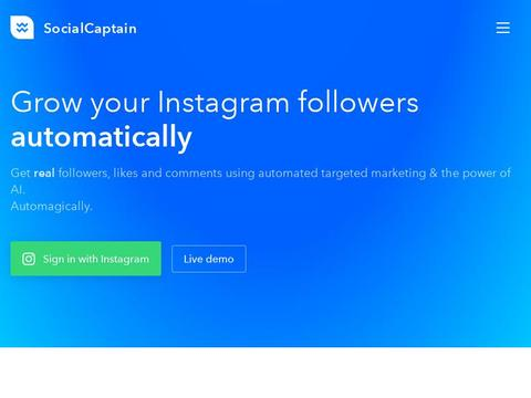 SocialCaptain Coupons and Promo Code