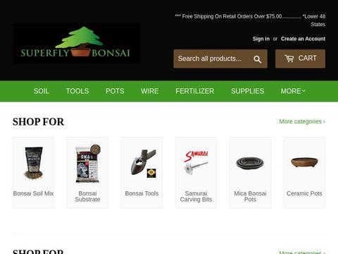 Superfly Bonsai Coupons and Promo Code