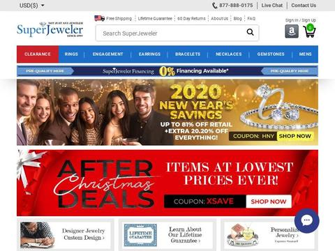 SuperJeweler Coupons and Promo Code