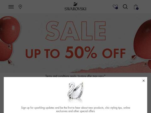 Swarovski AU Coupons and Promo Code