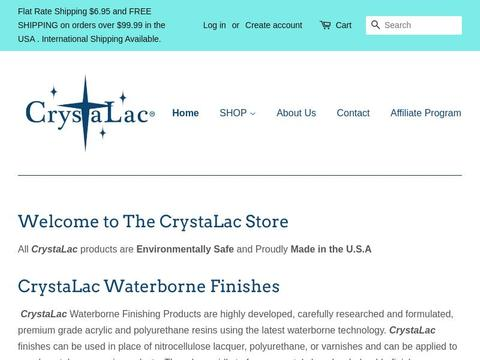 The CrystaLac Store Coupons and Promo Code