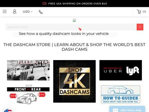 The Dashcam Store Coupons and Promo Code