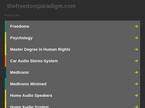 The Freedom Paradigm Coupons and Promo Code