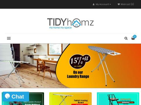 Tidy Homz Coupons and Promo Code