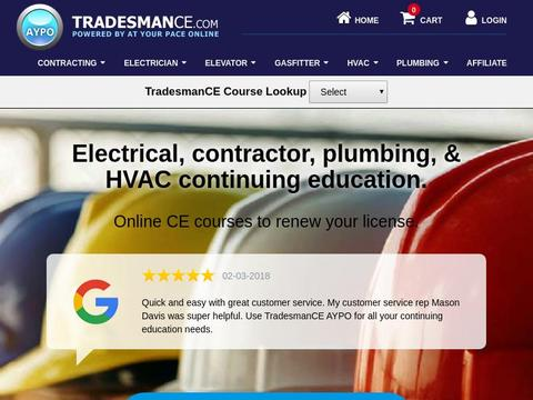 TradesmanCE Coupons and Promo Code