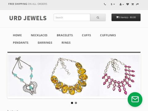 URD Jewels Coupons and Promo Code