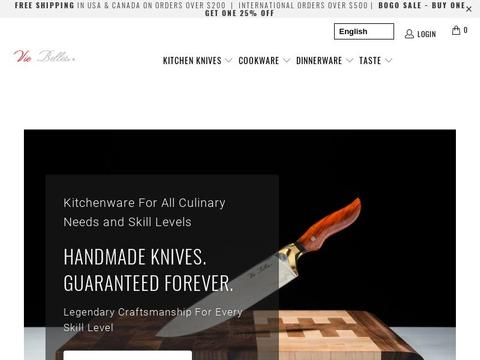Vie Belles Cutlery Coupons and Promo Code