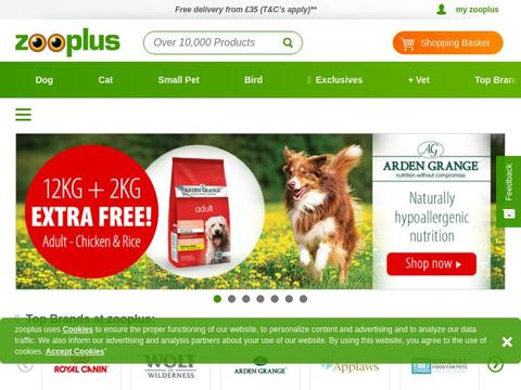 Zooplus.co.uk Coupons and Promo Code